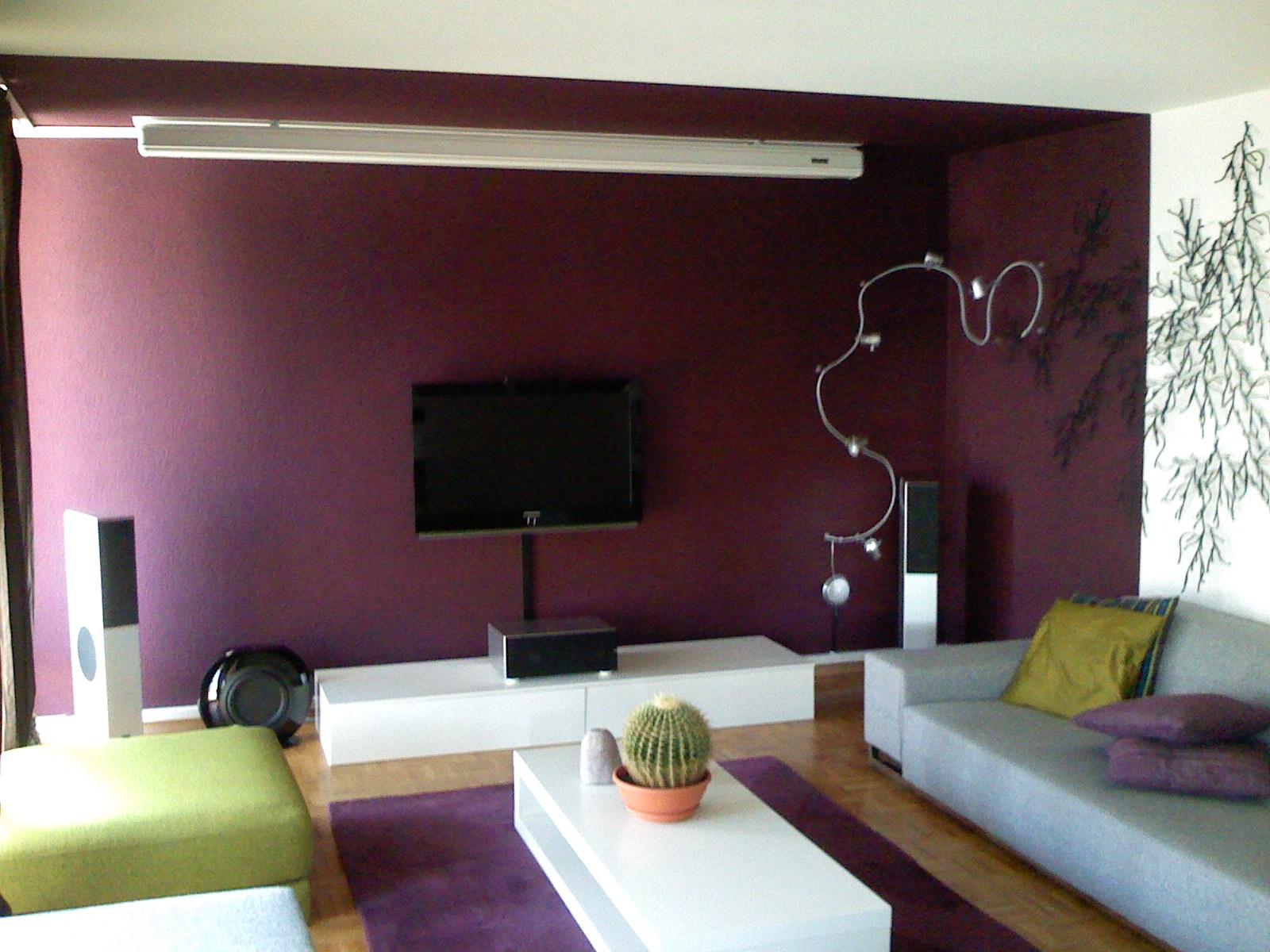 Salon peinture gris galet - Peinture couleur salon ...