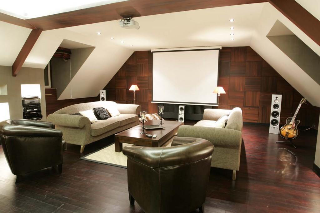 Le dancing home cin ma hcfr mag - Salon avec home cinema ...
