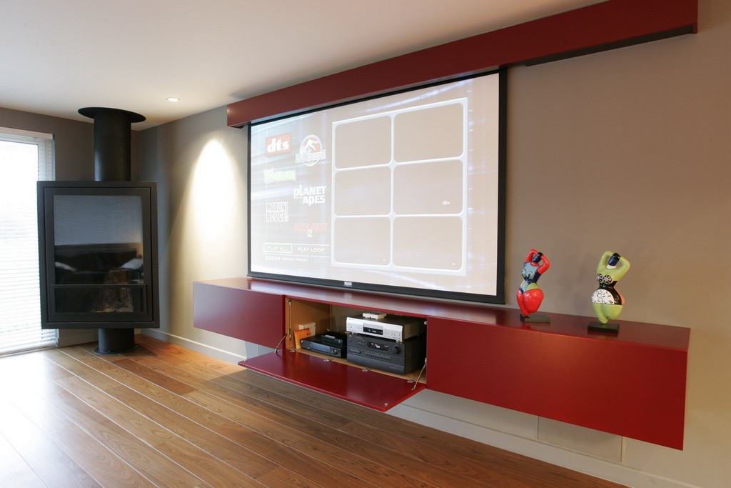 Billard et home cin ma for Meuble videoprojecteur