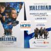 Valerian et la cité des milles planètes – avant-première Mardi 25 Juillet – l'Association des Membres HCFR sera présente