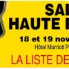 Salon Haute Fidélité, 18 & 19 Novembre, Paris