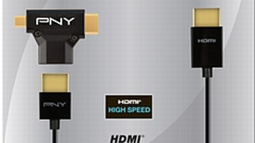 PNY propose un kit 3-en-1 HDMI très pratique