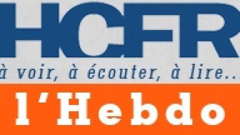 HCFR L'Hebdo N°41