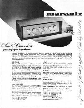 Marantz consolette 1940