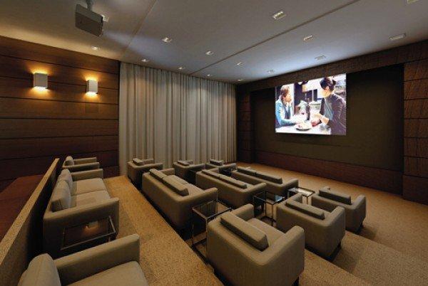 home-cinema salle dédiée