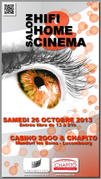 Affiche salon home cinema pour casino
