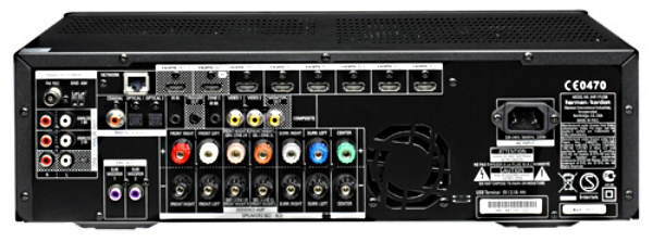 Harman Kardon AVR 171 back