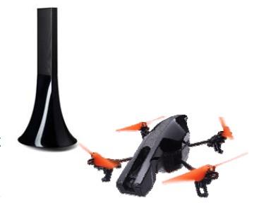 parrot zikmu et drone