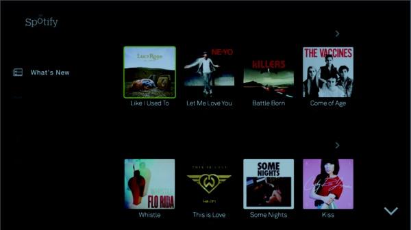 LG Spotify