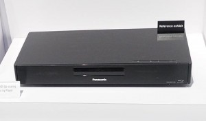 Le BDT700 présenté sur le stand Panasonic...