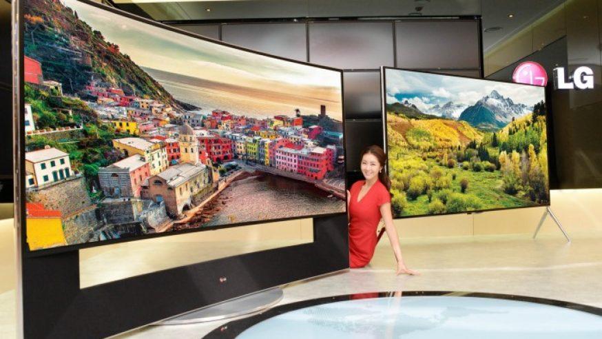 LG expose sa gamme de téléviseurs ULTRA HD au CES