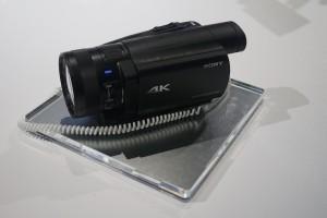 La première camera 4K grand public chez SONY