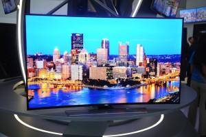 Le plus grand écran LED courbe (77'')