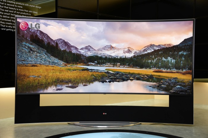 TV LG curved