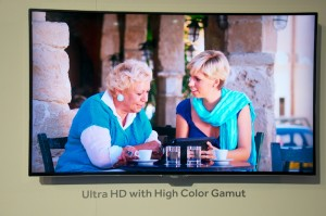 4K (UHD) en WideGamut chez Haier