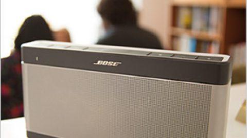 Nouvelle enceinte Bluetooth Bose SoundLink III