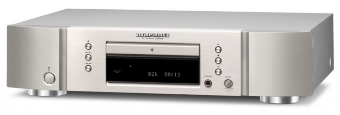 Marantz_CD5005 Silver (face)