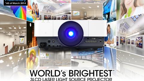 Nouveaux projecteurs PRO de Sony VPL-GTZ1, VPL-FHZ700L et  SRX-T423