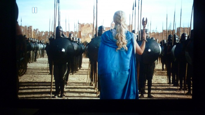 Game of Throne, extrait 1 - RC ON en position 0