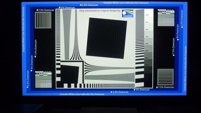 Sony HW-40 Overscan