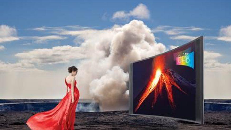 """TCL présente le 110"""" China Star  le plus grand téléviseur UHD incurvé au monde"""