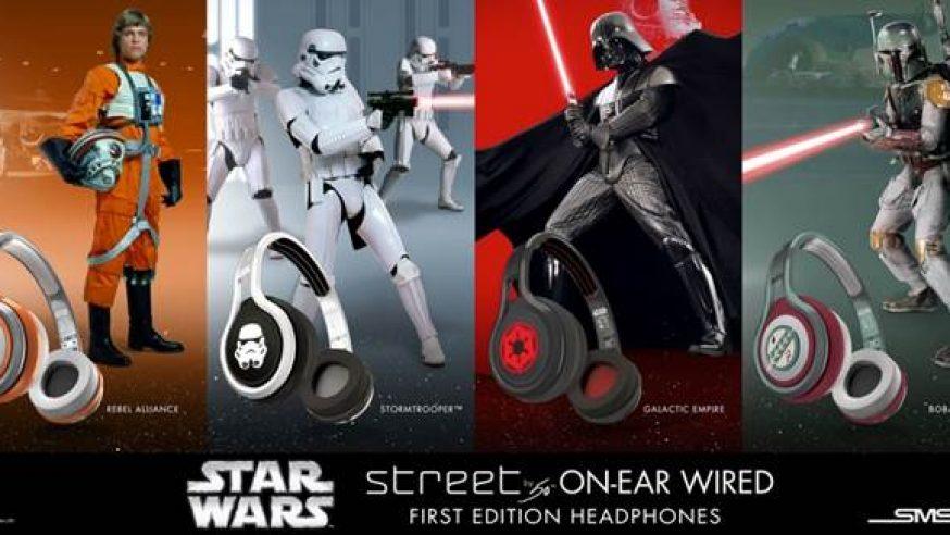 Prenez part à la Saga avec les casques Star Wars de SMS Audio