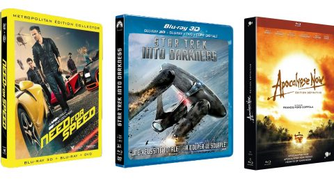 Tests Blu-ray de la semaine : Need for Speed, Star Trek Into Darkness et Apocalypse Now Redux