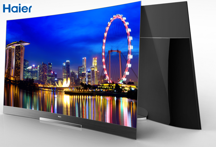 Haier_Curved OLED picture