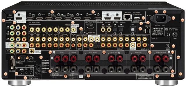 Pioneer VSX-924 back