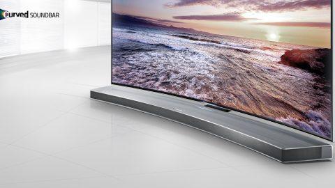 #IFAHCFR : Samsung présente sa barre de son incurvée HW-H7501