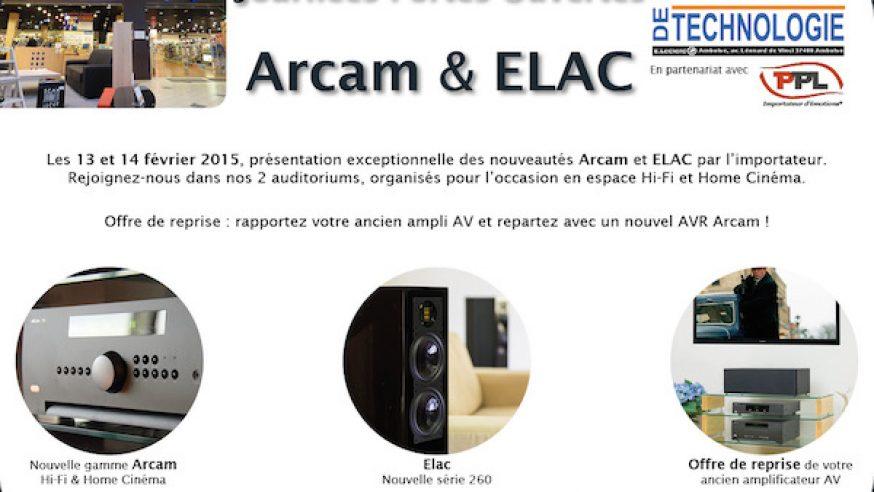 Portes ouvertes Elac et Arcam à L'Espace de la Technologie d'Amboise les 13 et 14 février