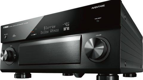 Test HCFR du Yamaha CX-A5100, Processeur 11.2 Dolby Atmos & DTS : X