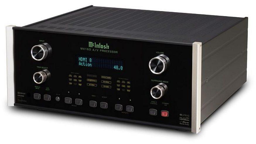 McIntoshMX160 et MX122 les nouveaux processeurs audio/vidéo qui réinventent l'expérience home cinéma