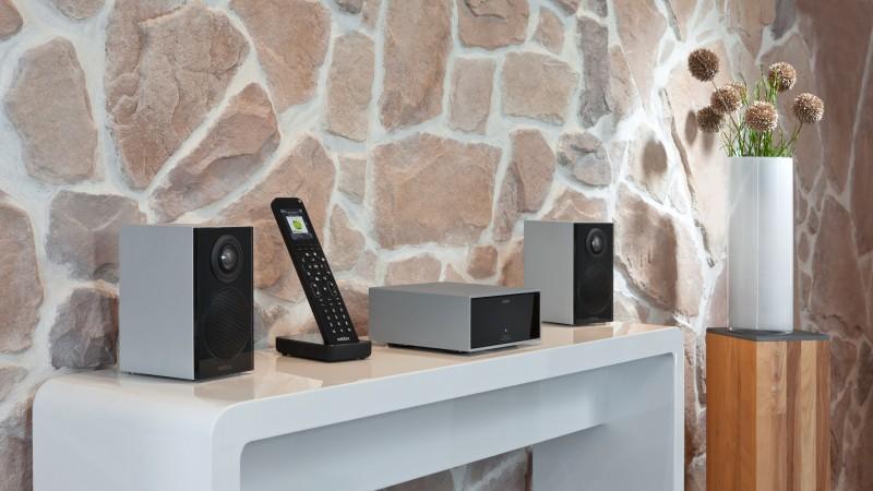 Revox Joy S118 audio network receiver - alu - Enceintes G mini (1)