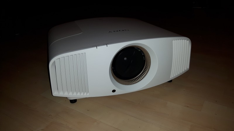 Test HCFR du projecteur Sony VPL-VW550ES