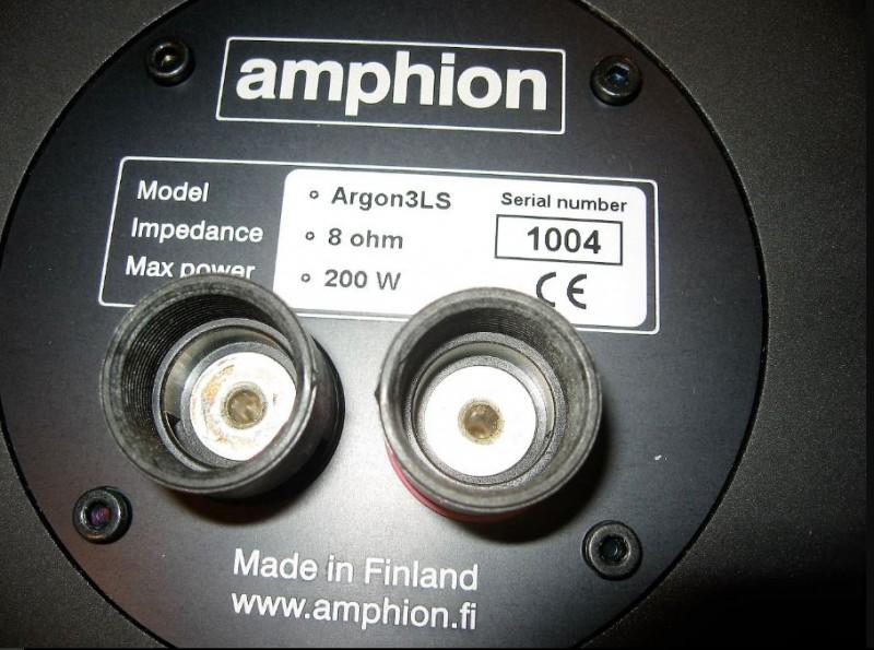 Amphion borniers