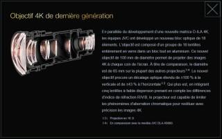 JVC Z1 bloc optique