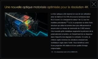 JVC Z1 optique motorisée