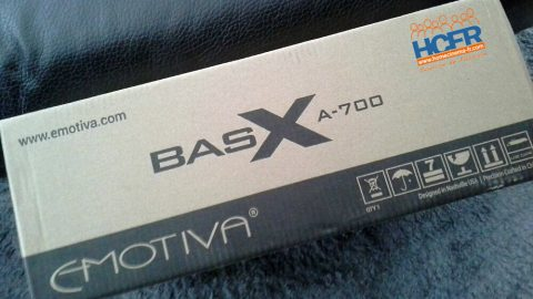Unboxing (video) de l'ampli Emotiva BasX A-700 en cours de test HCFR
