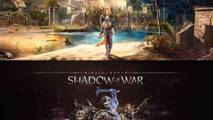 GamesCom 2017 : Nos impressions sur Assassin's Creed Origins et Shadow of War (VIDEO)