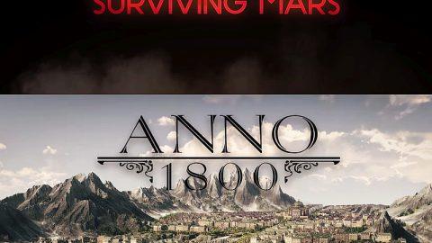 GamesCom 2017 : Nos impressions sur les STR et jeux de gestion du salon, Anno 1800 et Surviving Mars (VIDEO)