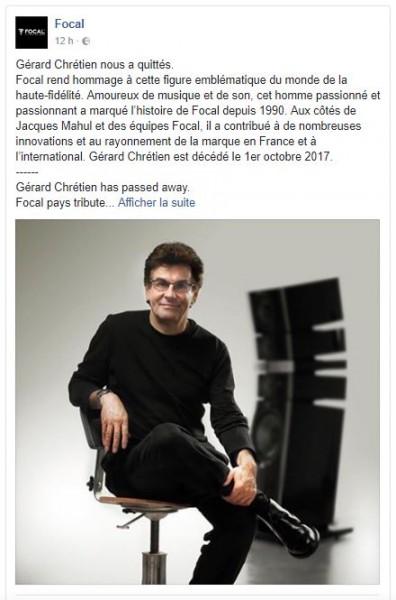 171003 Focal Gerard Chretien