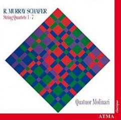 Quatuors à cordes de Raymond Murray Schafer Quatuor n°1