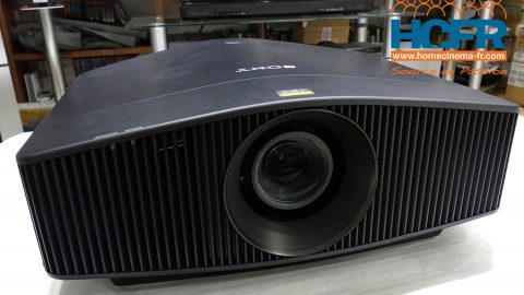 Test HCFR du Sony VPL-VW760ES, projecteur video 4K_laser