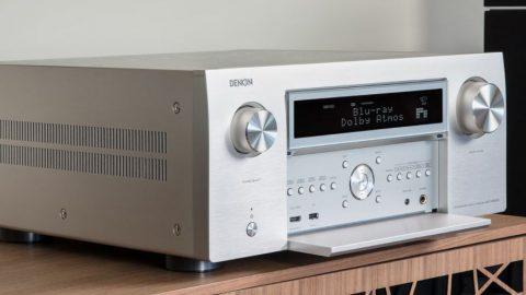 Test HCFR du Denon AVC-X8500H, intégré HC 13 canaux