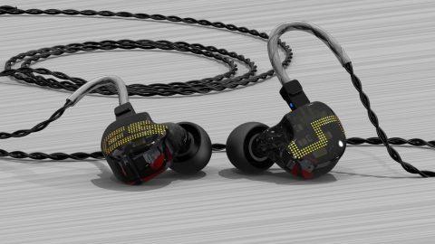 Test HCFR des écouteurs intra-auriculaires Earsonics ES5