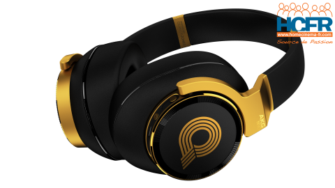 Video HCFR : AKG N90Q, casque audio – Unboxing