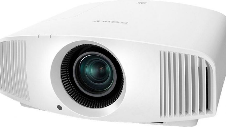 Test HCFR du Sony VPL-VW260ES, projecteur video 4K,