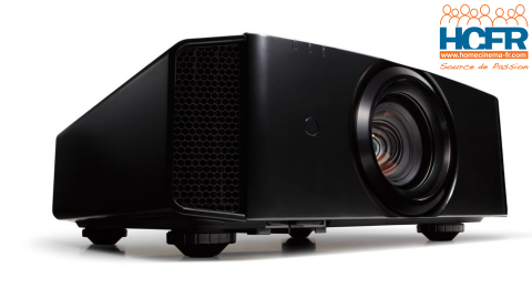 Test HCFR du JVC DLA-X5900, projecteur e-shift UHD