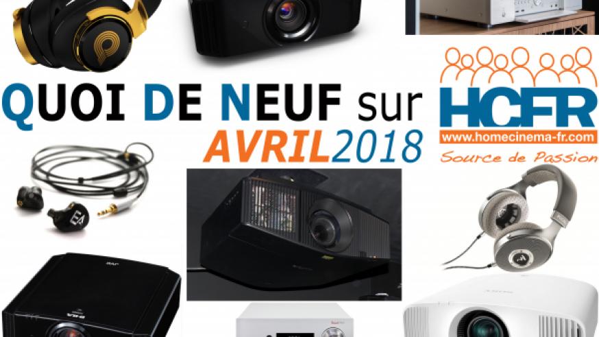 Votre QDN, Quoi de Neuf sur HCFR, Avril 2018 est disponible